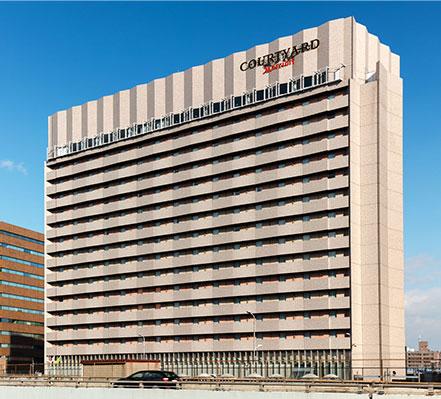 コートヤード・バイ・マリオット 新大阪ステーション 外観